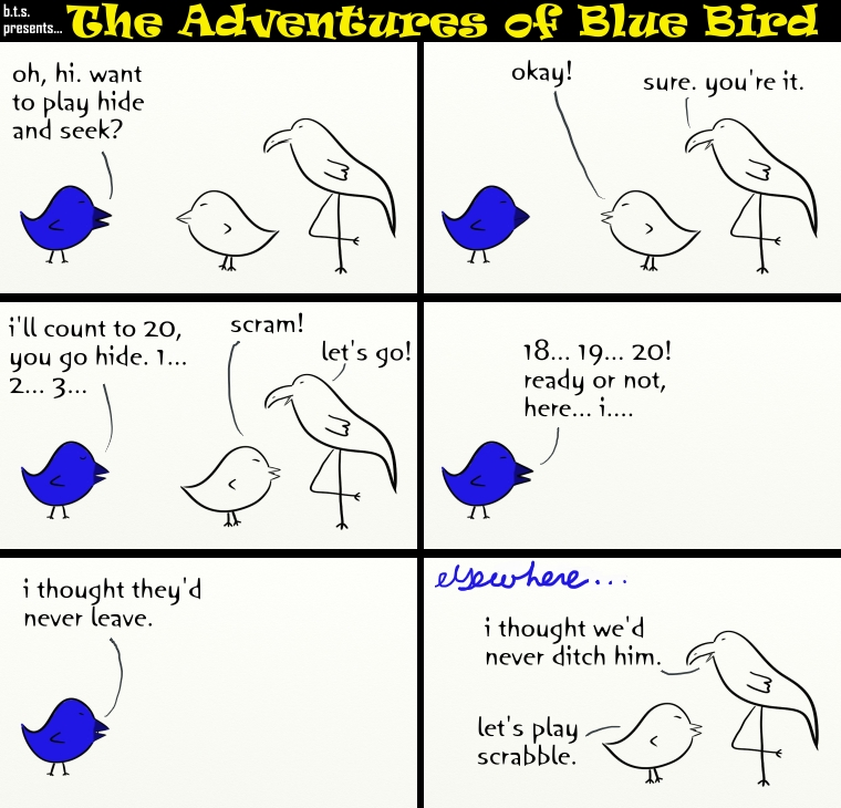 the adventures of blue bird